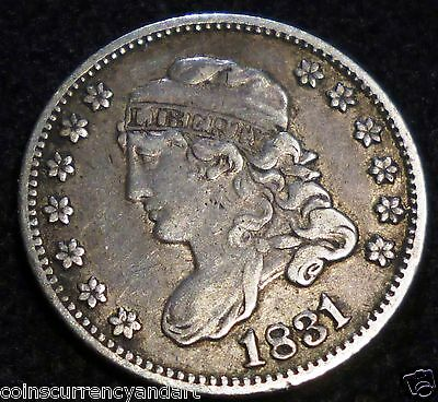 1831 CAPPED BUST HALF DIME usa
