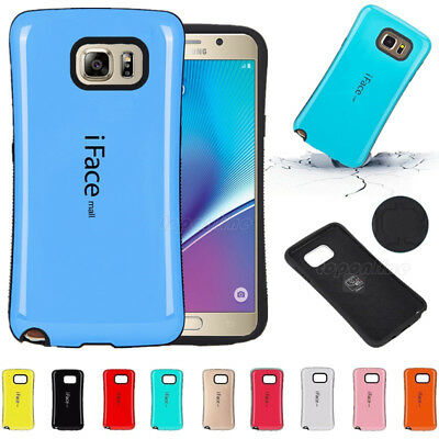 Shockproof iFace mall Hard Case Cover For Samsung Galaxy Note 8 A3 A5 A7 2017