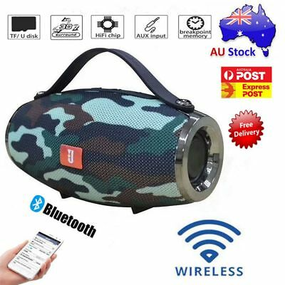 Portable Bluetooth Speaker HIFI Music Radio Super Bass Outdoor For Mobile Phone
