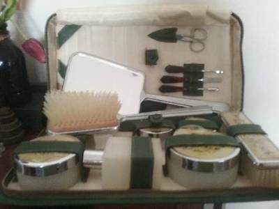 Antique Dressing Table Travel Set