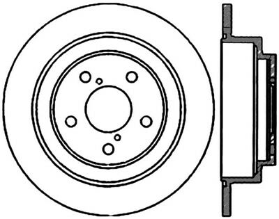 high carbon alloy brake disc fits 1990 2008 subaru forester impreza 1994 Subaru Outback gcx brake rotors by stoptech fits 1990 2008 subaru forester impreza legacy cent