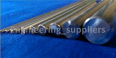 Stainless Steel T303 Rod Round Bar 1.6, 2, 3, 4, 5, 6, 8 & 10mm Dia, Stock Metal
