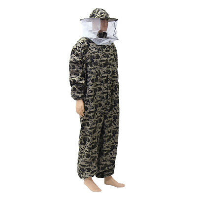 Beekeeping Suit Veil Camouflage Bee Protective Clothes Beekeeper M Size Suits