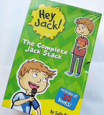 Brand New Hey Jack The Complete Jack Stack 20 Books Box Set by Sally Rippin