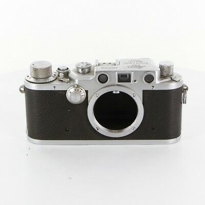 Leica IIIc 3C 35mm Rangefinder Film Camera Body Only From Japan Excellent