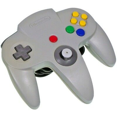 Nintendo 64 Normal Official Gray Controller Only Japan Import N64 Working Tested