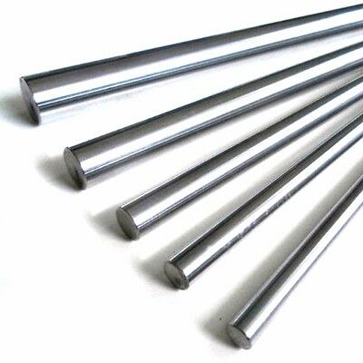 Harden Process Dia 10mm  Linear Rail Cylinder Shaft Optical Axis Smooth Rod