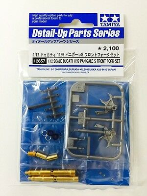 Tamiya 12657 1/12  Ducati 1199 Panigale S Front Fork Set from Japan