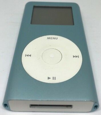 Apple iPod mini Blue 4 GB Not Working for part only