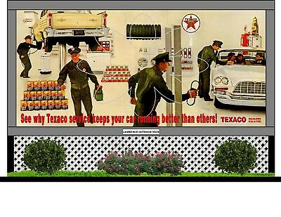 Miniature Texaco Billboard