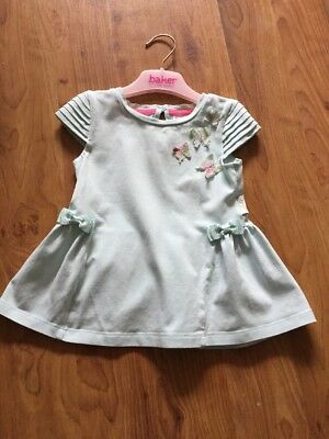7e74372f4eb TED BAKER GIRLS Butterfly Tunic Top Age 18-24 Months - £8.50 ...