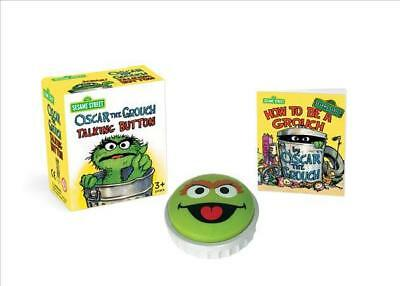 Sesame Street: Oscar the Grouch Talking Button - New In Box