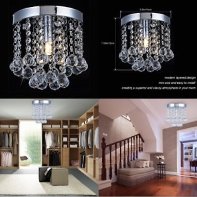 Modern Crystal Chandelier Lighting Small Chandeliers Pendant Ceiling Dining Room