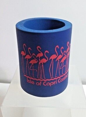 Isle Of Capri Casino Mississippi Foam Koozie Can Holder + Bonus