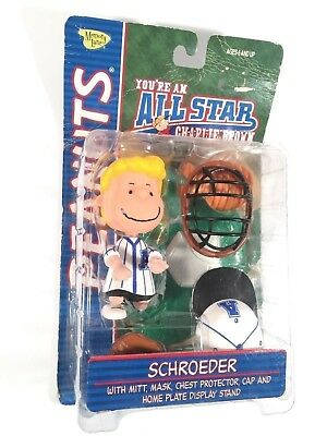 Memory Lane Peanuts All-star Charlie Brown Baseball Schroeder Collectible Figure