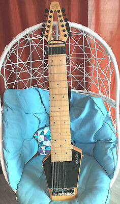 Mobius Megatar (like Chapman Stick) 12-string Touch Bass/Guitar Instrument, EC