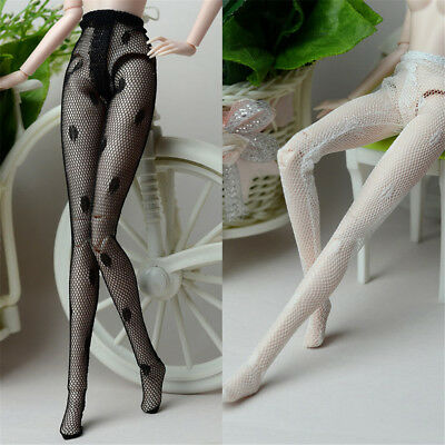 Handmade Mesh Stocking Lace Bottoms Trousers Pants Legging For Barbie Doll ESCA