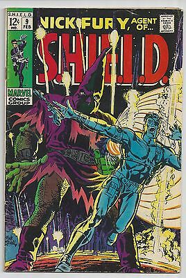 Nick Fury, Agent of SHIELD #9 (Feb 1969, Marvel)  vg