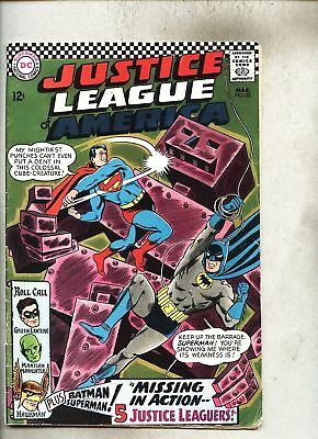 Justice League Of America #52-1967 fn Hawkgirl