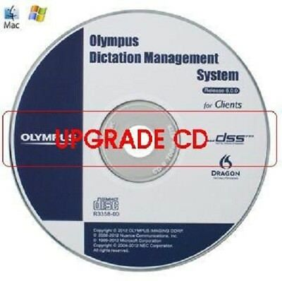 Olympus AS-7003 ODMS-R6 Software Dictation Upgrade