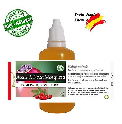 Aceite de Rosa Mosqueta virgen 30 ml. Virgin Rosehip oil 1 fl.oz