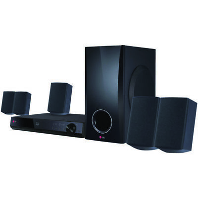 LG(R) BH5140S 3D-Capable 500-Watt 5.1-Channel Home Theater System with Blu-ray D