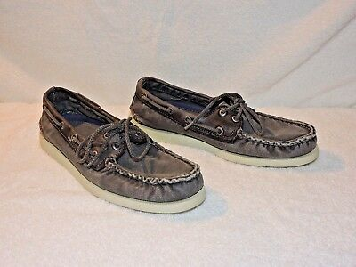 NIB Sperry Top-Sider A//O Authentic Original 2 Eye Men/'s Leather Boat Shoe8-13 M
