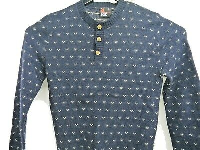 Vintage Robert Bruce Mens Wool Blend Sweater Union Made in the USA Small