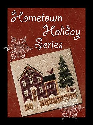 Hometown Holiday Series Little House Needlework Cross Stitch Pattern 1 - 17