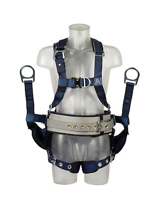 DBI-SALA ExoFit Derrick Full Body Fall Arrest Harness, Size L , KB11111622
