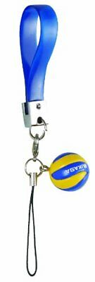 Mikasa Volleyball Strap Cell Phone Charm Key Chain Holder STVAM 15cm