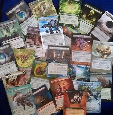 Hand Painted Custom Altered Magic the Gathering MTG Trading Cards Multicolor Pt1