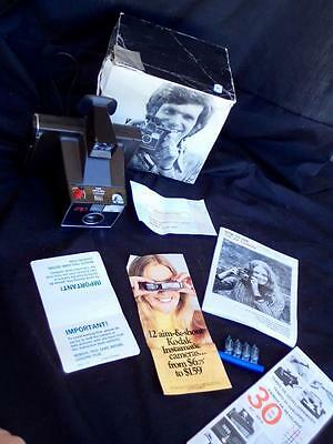 Polaroid Zip Type 87 Instamatic Land Camera Complete Kit Instruc. Boxed Near New