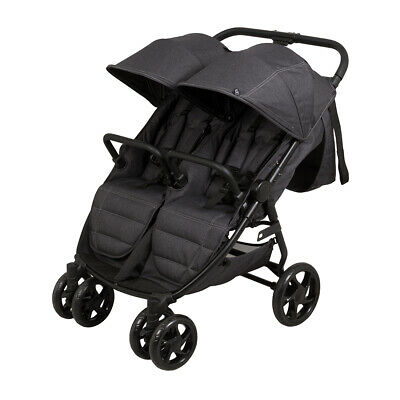 Childcare Twin Tour Duo Double Stroller Shadow
