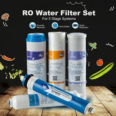 Home Drinking Undersink Kitchen RO Water Purifier Refill Filters Set Fit iSpring