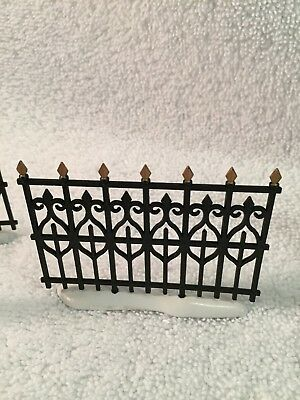 Department 56 VillageWrought Iron Fence Extensions  - Set of 6