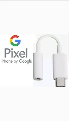 Original Genuine Google Pixel 2 & XL USB-C Digital to 3.5 mm headphone adapter