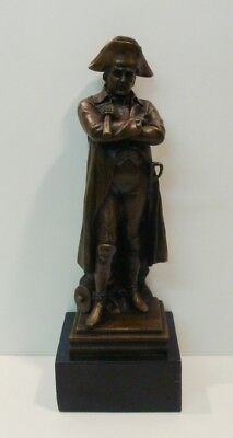 Statue Sculpture Napoleon French Style Solid bronze Signed