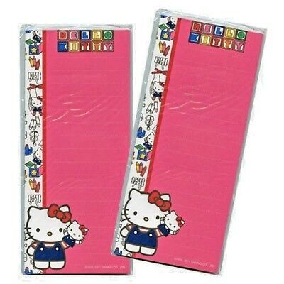 Officially Licensed Horizon Hello Kitty Magnetic List Pad 2pk/set #19858
