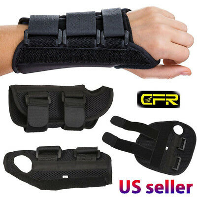 Breathable Wrist Support Brace Straps Splint For Carpal Tunnel Arthritis Sprain