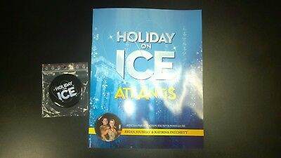 "HOLIDAY ON ICE "" ATLANTIS "" promo programme tour spectacle 2018"