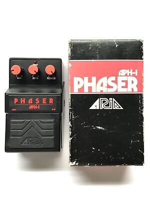 Aria APH-1, Phaser, Made In Japan, 1979-83, Original Boxing, Vintage Effect