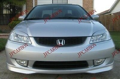 For Honda Civic VI 95-99 HEADLIGHT BROWS EYELIDS EYEBROWS Cover badlook EJ9