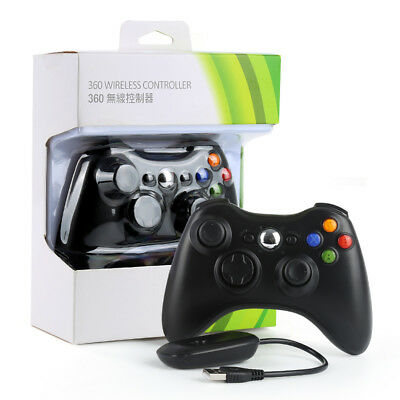 Hot 2.4G Game Wireless Controller Gamepad Joystick & PC Receiver for XBOX360 NO