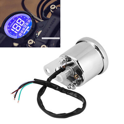 Universal LED Digital Backlight Motorcycle Odometer Speedometer Tachometer Gauge