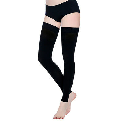 Medical Compression Socks Varicose Vein Stockings Flight Thigh High Anti-Fatigue