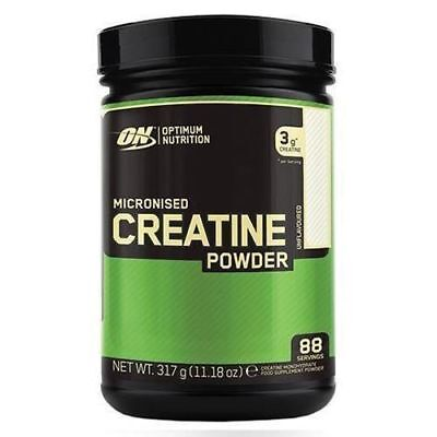 Optimum Nutrition Micronised Creatine Powder 317g 88 servings No fillers