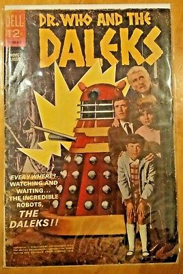 DR. WHO AND THE DALEKS 1966 12-190-612 Dell Comics Movie Classic