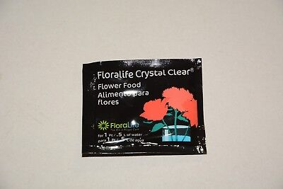 Floralife Universal Flower Food Sachets Clear 5g x 40 packs - (Free Postage)