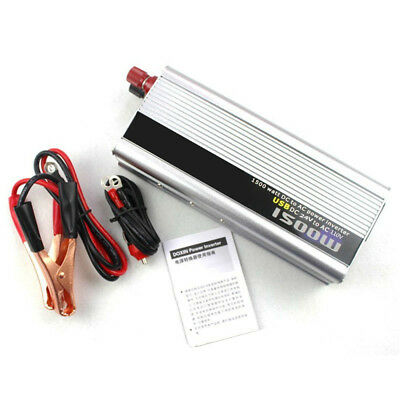 1500W Electronic Modified Sine Wave Inverter Power Converter DC 24V to AC 110V